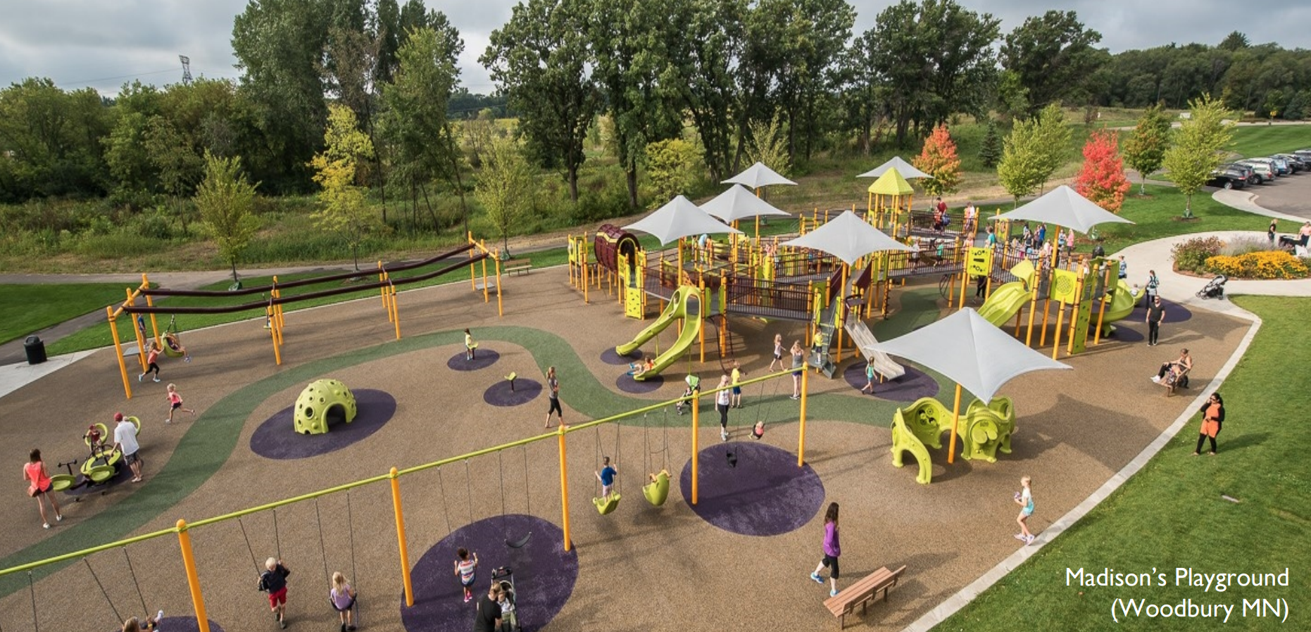 An example of an all-inclusive park in Woodbury, Minnesota (Photo: City of Sioux Falls)